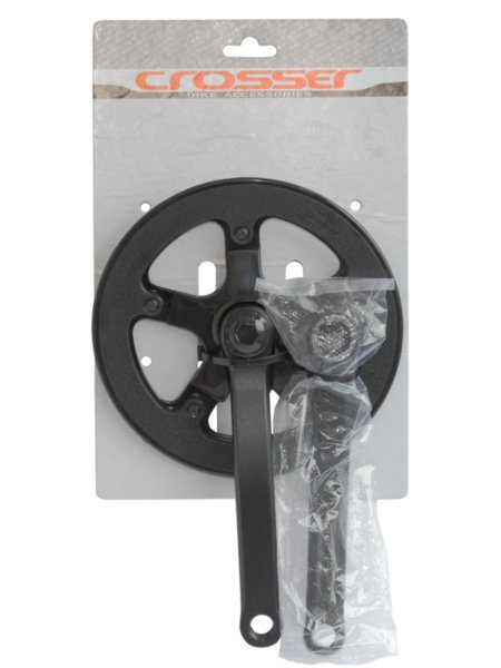 Комплект стоманени курбели Prowheel 42Т / 170мм