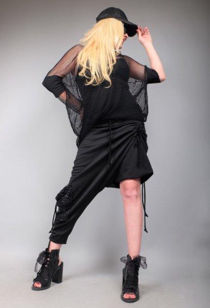 Впечетляващ асиметричен панталон