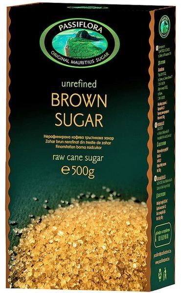 Нерафинирана кафява захар Passiflora 500 гр
