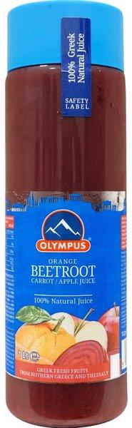 Натурален сок Цвекло, Портокал, Морков 100% Olympus 1л