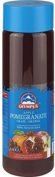 Натурален сок Нар, Ябълка, Грозде, Портокал 100% Olympus 1л