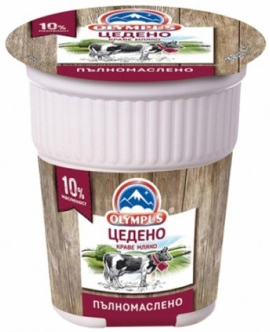 Цедено кисело мляко Olympus 10% 350 гр