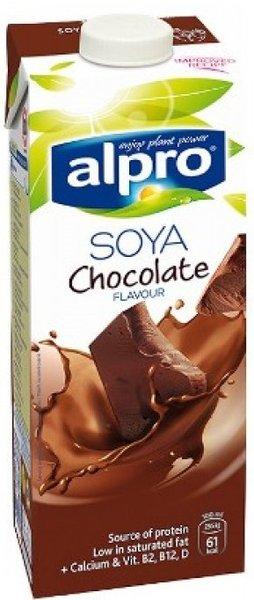 Соева напитка Alpro Soya шоколад 1л