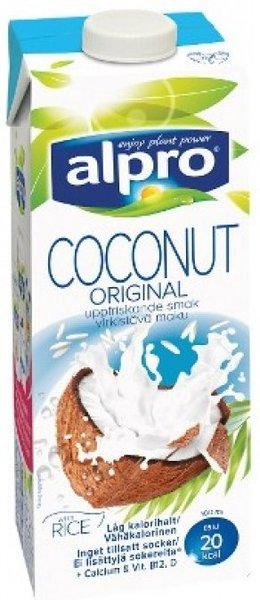 Напитка кокос и ориз Alpro 1л