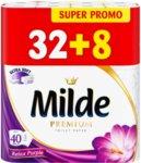 40 бр Тоалетна хартия Milde Relax Purple