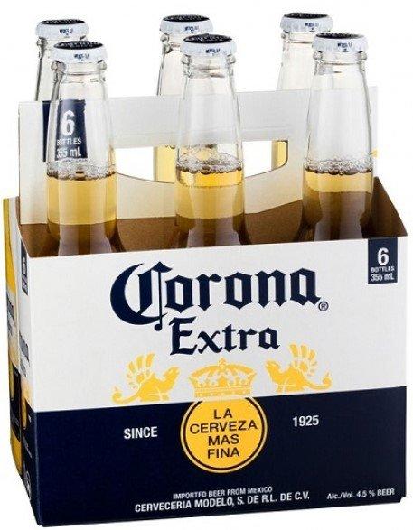Бира Corona Extra 6 бр