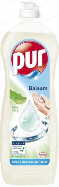 Препарат за миене на съдове PUR балсам с алое вера 900мл
