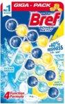 Ароматизатор за тоалетна чиния Bref Power Aktiv Ocean Breeze + Juicy Lemon 4 бр