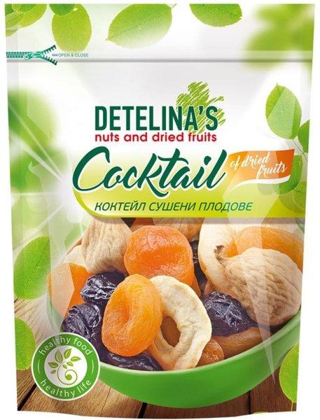 Коктейл сушени плодове Детелина 200гр
