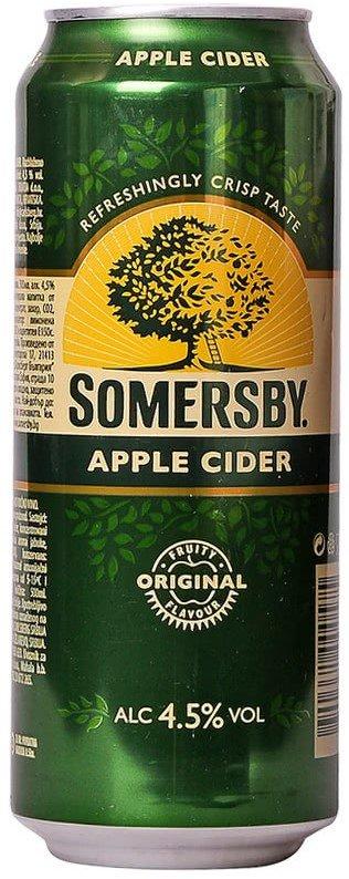 Сайдер Somersby ябълка 500мл кен