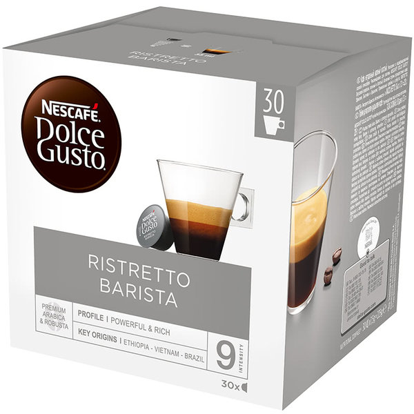 NESCAFE Dolce Gusto Ristretto Barista Magnum кафе капсули, 30 напитки