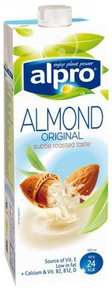 Бадемова напитка Alpro Almond Original 1л