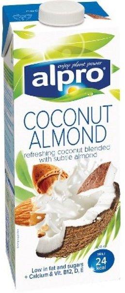 Кокосово-бадемова напитка Alpro 1л