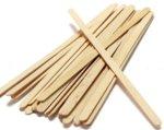 Дървени бъркалки кутия 14см 500бр