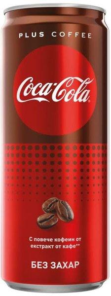 Coca-Cola Plus Coffee кен 330мл