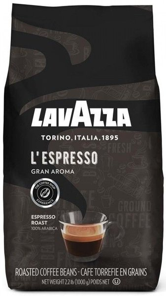 Кафе на зърна Lavazza Gran Aroma Espresso 1кг