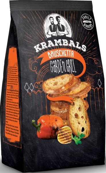 Брускети Krambals Garden Grill 70гр