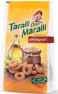 Соленки Taralli Don Maralli пълнозърнести 130 г