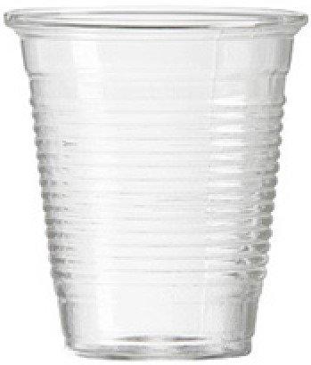 Чаши за сок 200 мл пластмасови 100 бр
