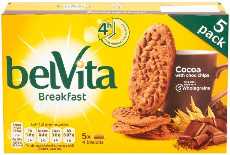 Бисквити с шоколад BelVita 225гр