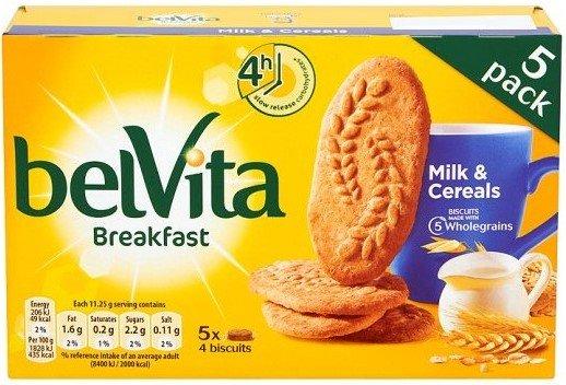 Бисквити с мляко BelVita 225гр