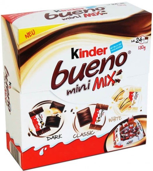 Шоколадови десерти Kinder Bueno Mini Mix 130гр