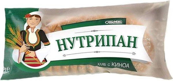 Хляб с киноа СавиМекс Нутрипан 370гр