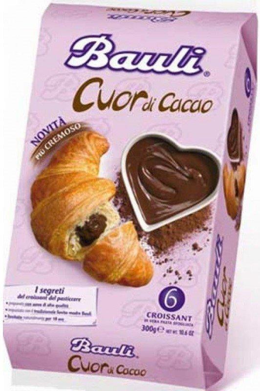 Кроасани с какао Bauli 6бр х 50гр