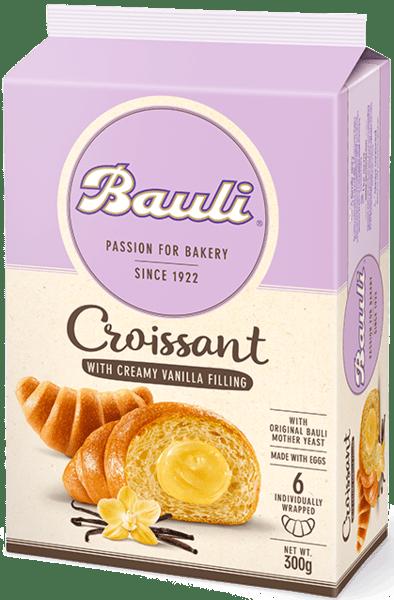 Кроасани с ванилия Bauli 6бр х 50гр