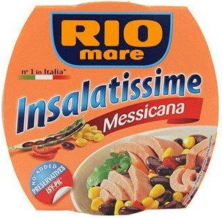 Консерва мексиканска салата с риба тон Rio Mare 160 гр