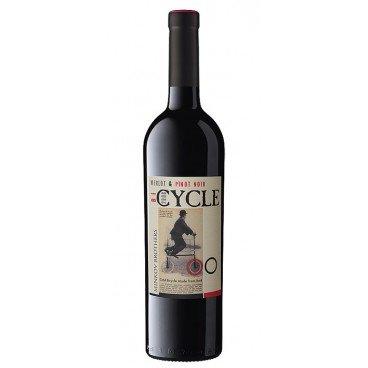 Червено вино мерло и пино ноар Cycle 0,75л