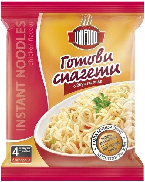 Инстантни спагети - пиле UniFood 70гр