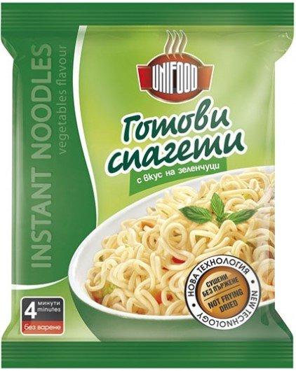 Инстантни спагети - зеленчуци UniFood 70гр