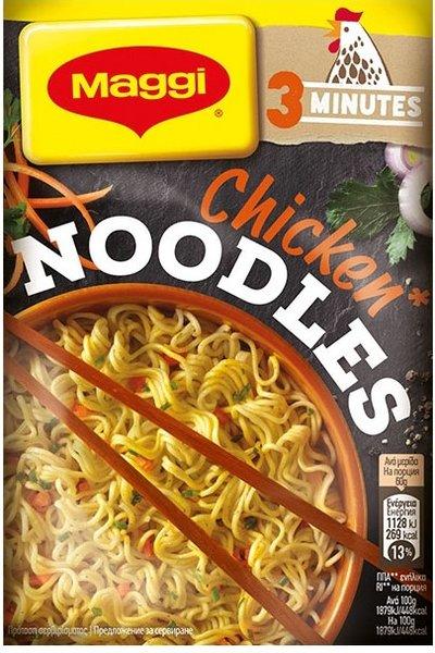 Инстантни спагети Пиле Maggi Noodles 60гр