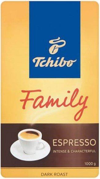 Кафе на зърна Tchibo Family Espresso Dark Roast 1кг