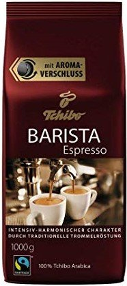 Кафе на зърна Tchibo Barista Espresso 1кг