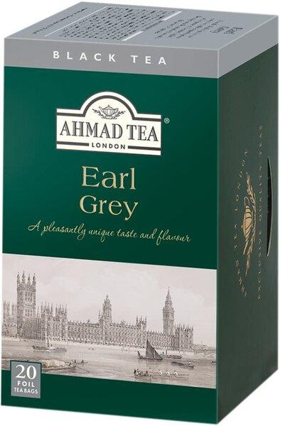 Черен чай Ahmad Tea Earl Grey 20бр х 2гр