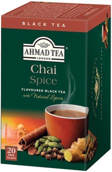 Черен чай Ahmad Tea Chai Spice 20бр x 2гр