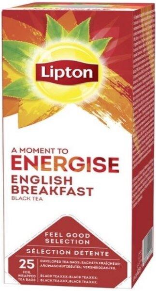 Черен чай Lipton English Breakfast 25бр х 2гр