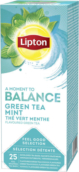 Зелен чай Lipton Mint Balance 25бр x 2гр