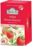 Чай Ahmad Tea Wild Strawberry 20бр х 2гр