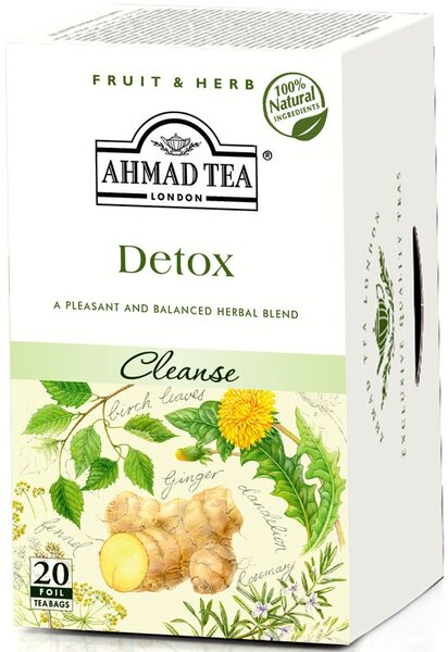 Билков чай Ahmad Tea Detox 20бр х 2гр