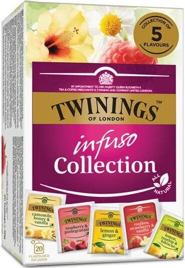 Чай Twinings Infuso Collection 20 х 1.5гр