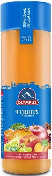 Hатурален Сок 9 Плода Olympus 1л