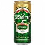 Бира Starobrno Premium Czech Pilsner 500мл кен