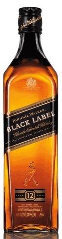 Уиски Johnnie Walker black label 12год. 0,7л