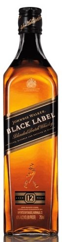 Уиски Johnnie Walker black label 12год. 0,7л