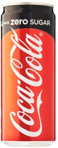 Coca-Cola Zero кен 330мл