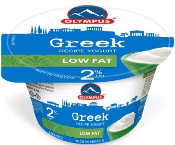 Йогурт по гръцка рецепта Olympus 2% 150гр
