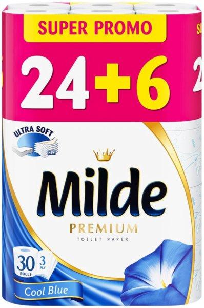 30 бр Тоалетна хартия Milde Cool Blue